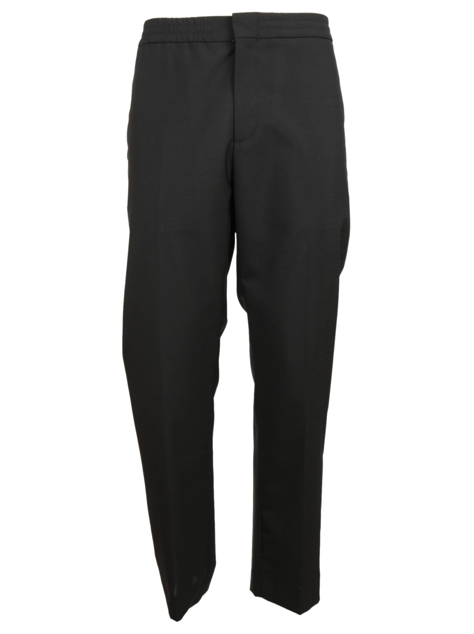 MSGM MSGM Stripe Side Tapered Track Pants