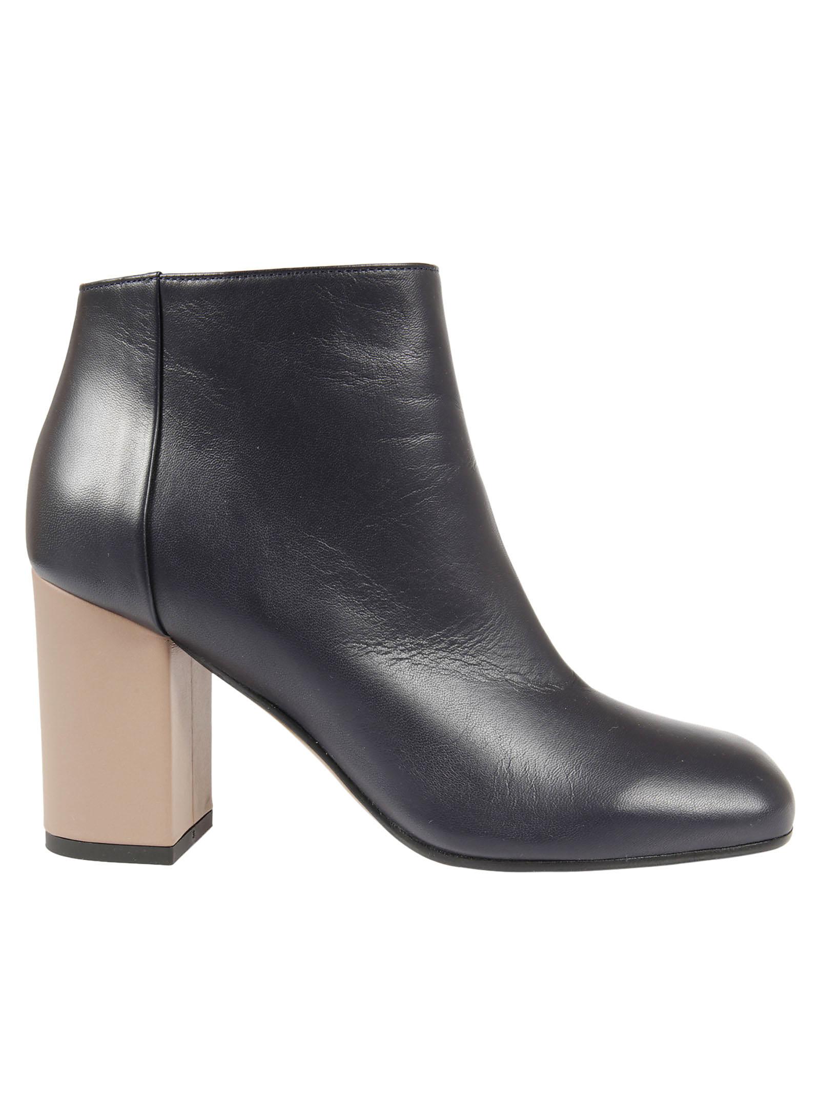 Marni Marni Leather Ankle Boots