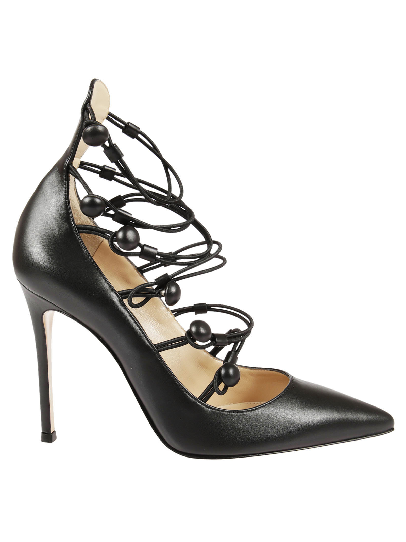 Gianvito Rossi Gianvito Rossi Cut-out Leather Pumps