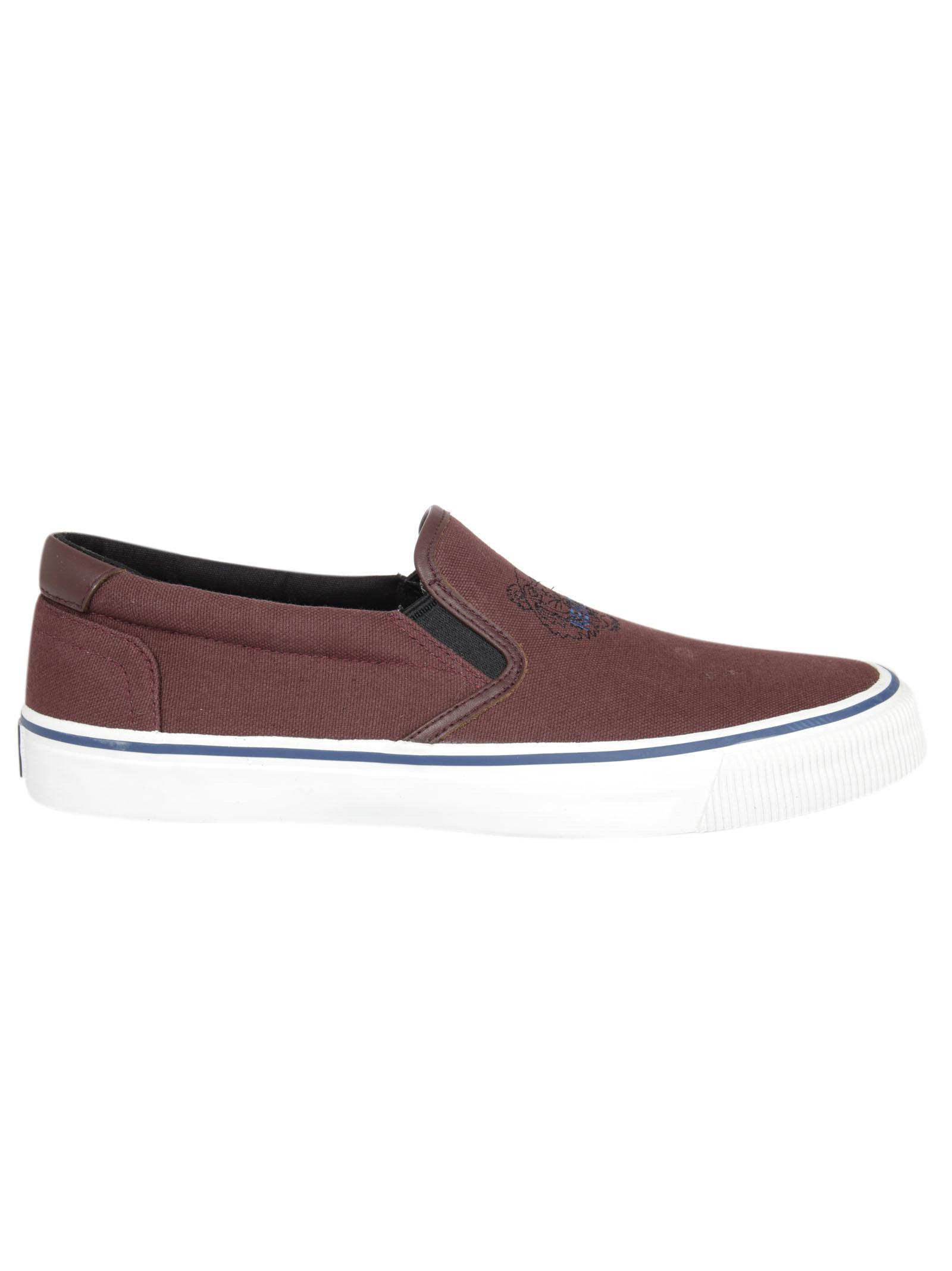Kenzo Kenzo Tiger Slip-On Sneakers