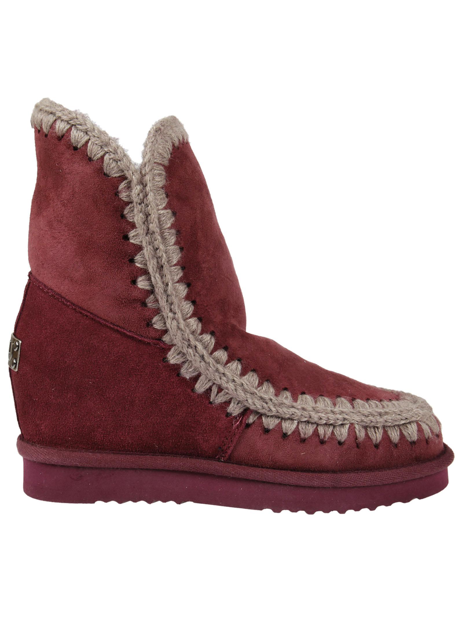 Mou Mou Inteskimo Ankle Boots