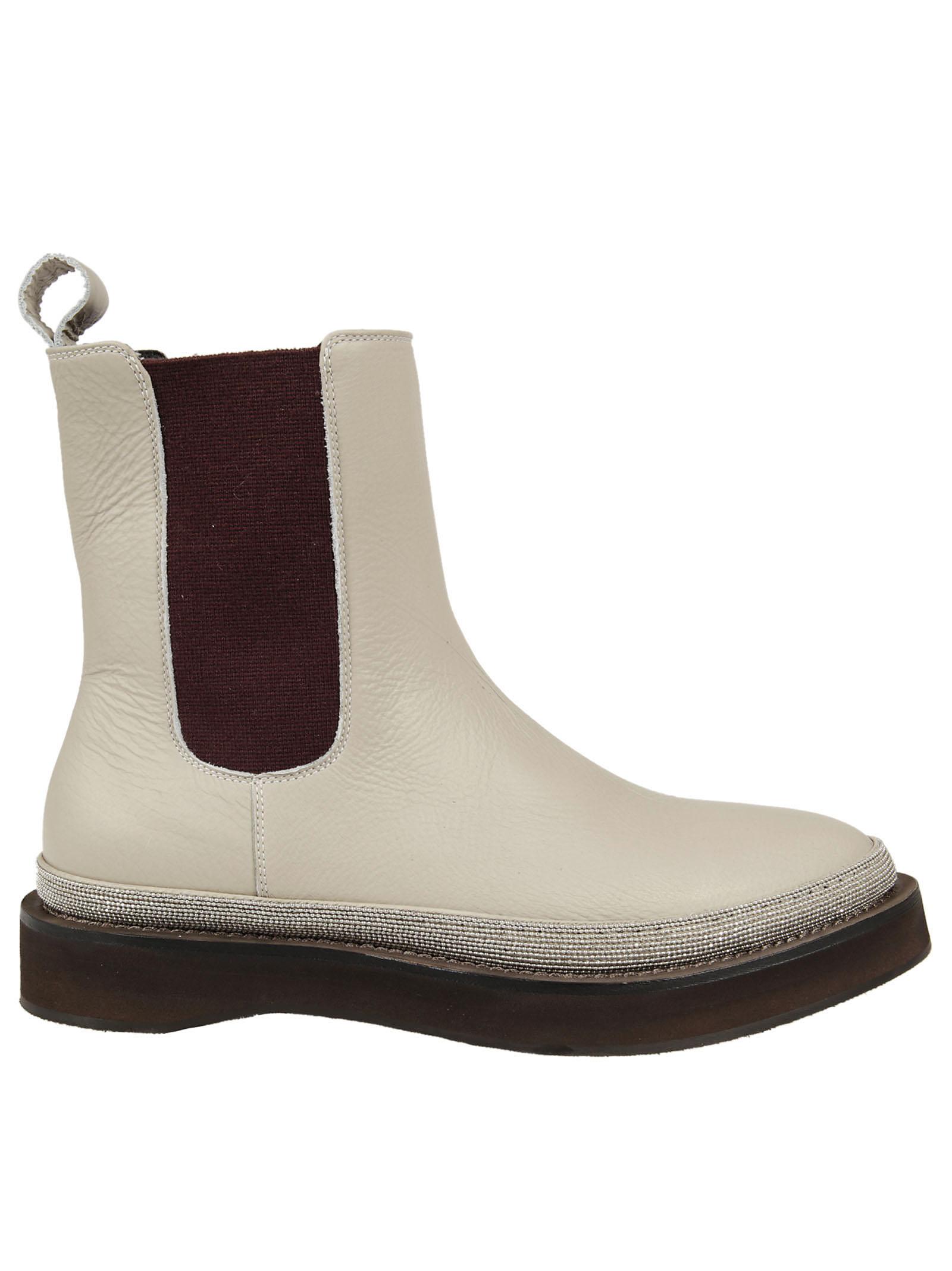 brunello cucinelli Brunello Cucinelli Pull-On Ankle Boots
