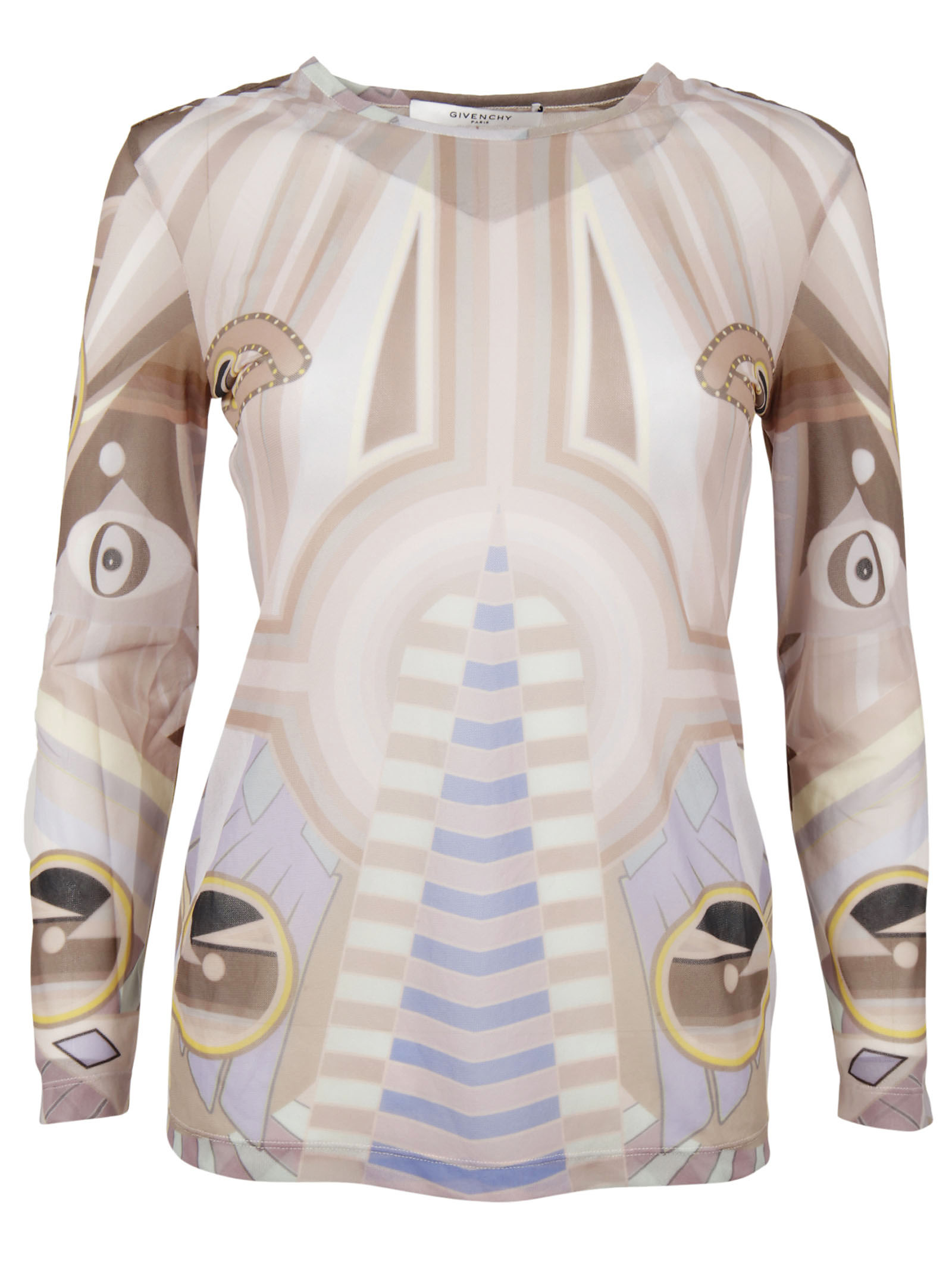 Givenchy Givenchy Stargate Printed Blouse