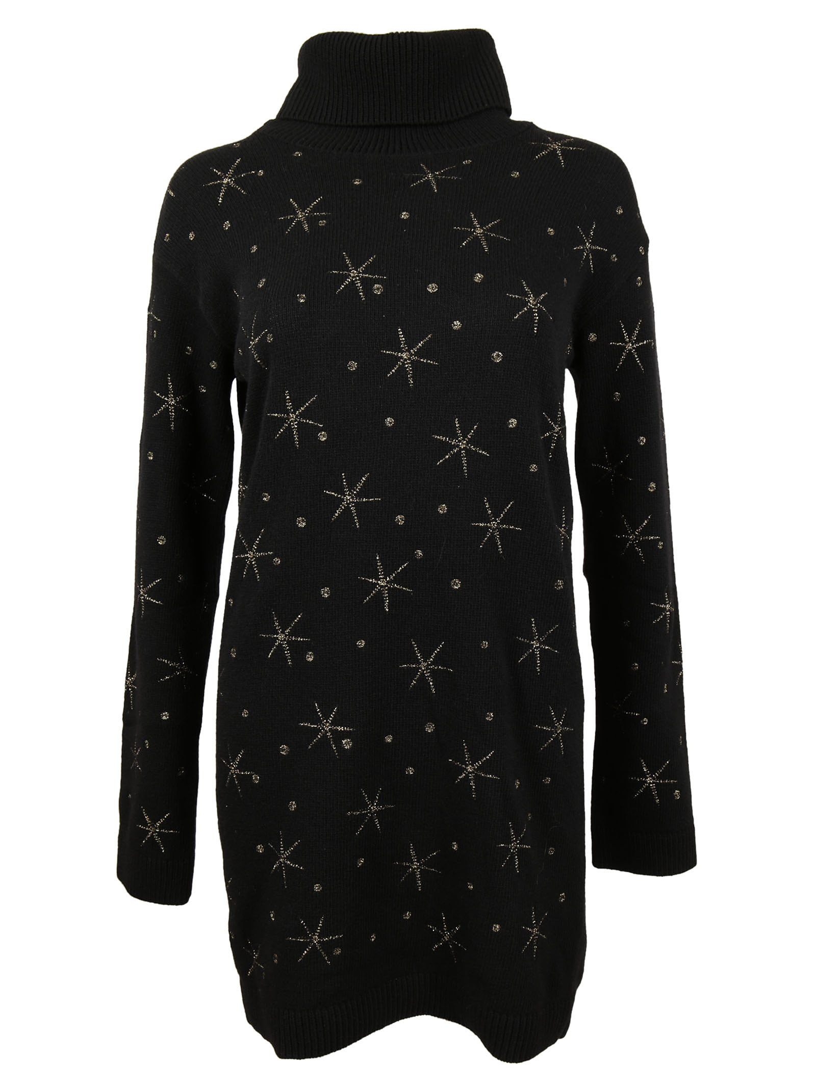 Valentino Valentino Turtleneck Dress