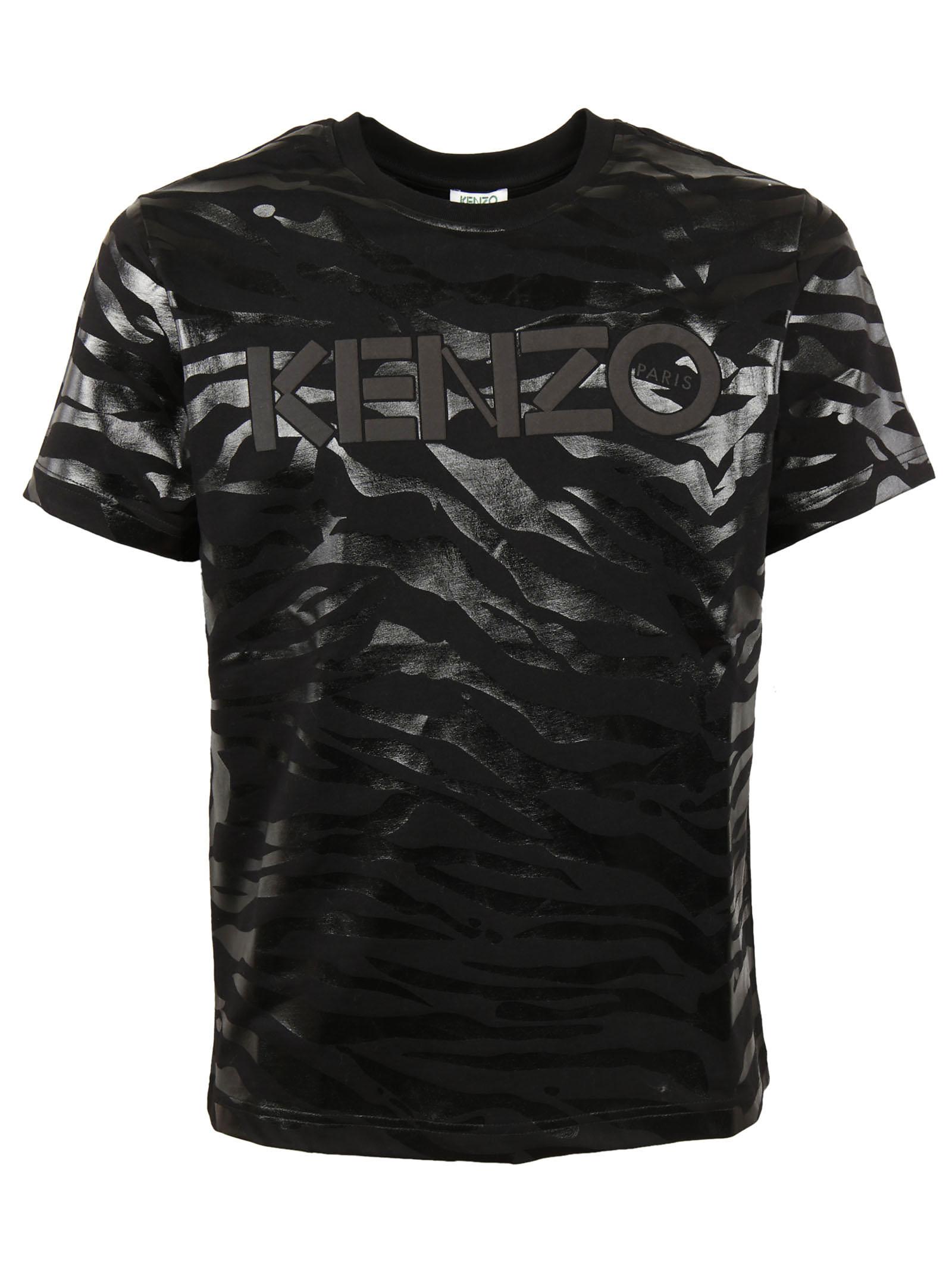 Kenzo Kenzo Tiger Stripes T-Shirt