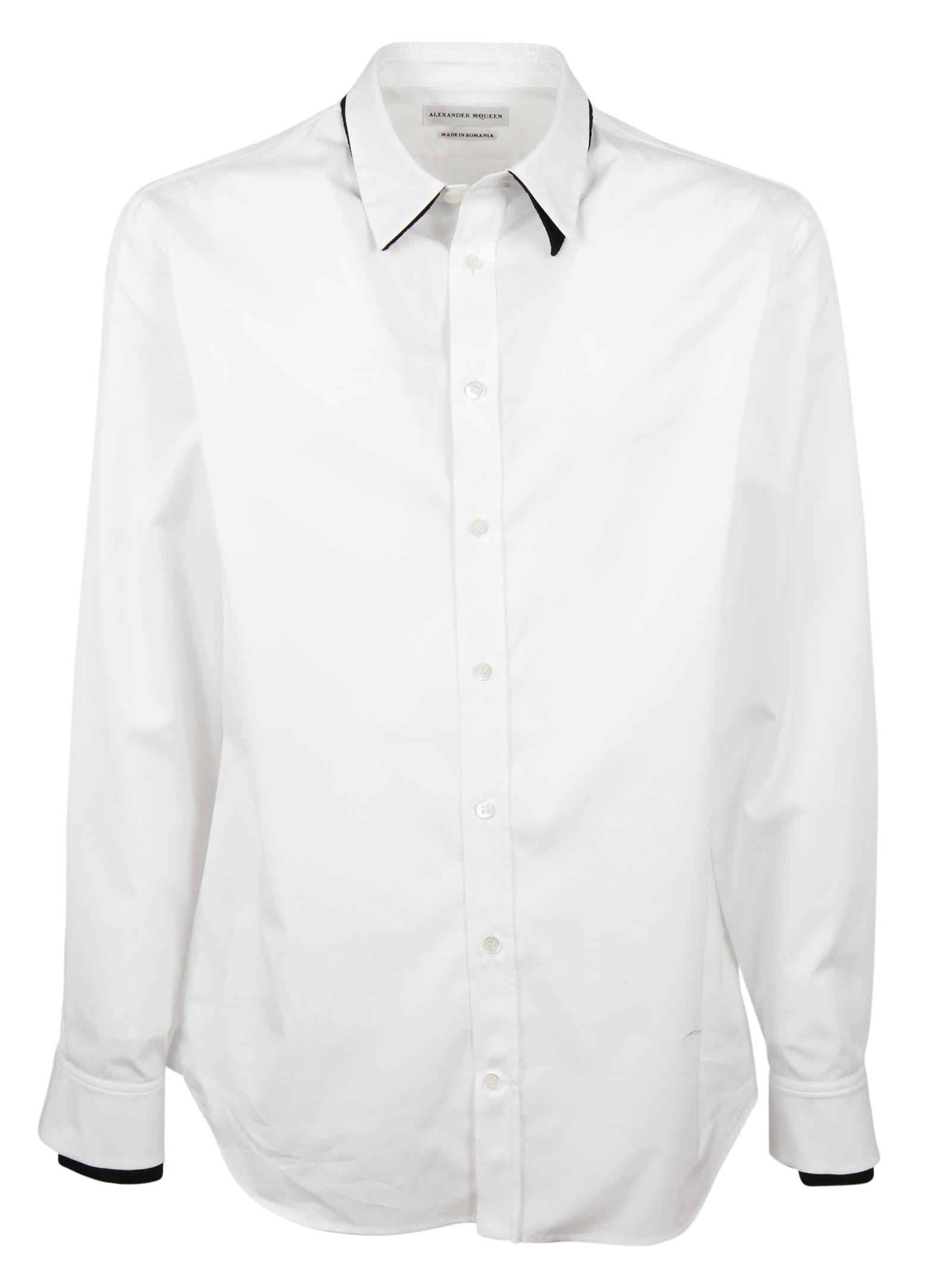 Alexander McQueen Alexander McQueen Double Collar Shirt