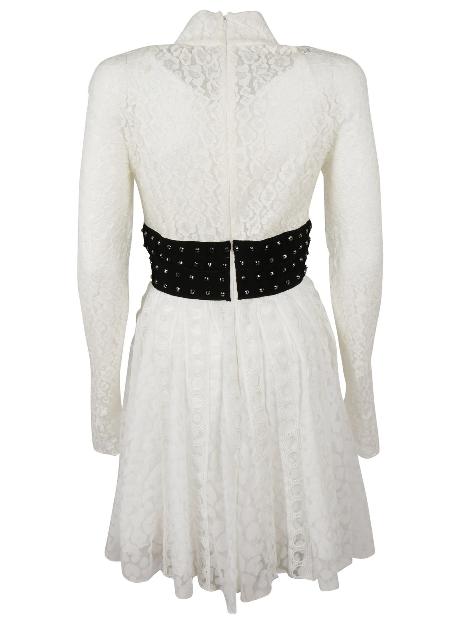 Giamba Giamba Lace Detail Dress