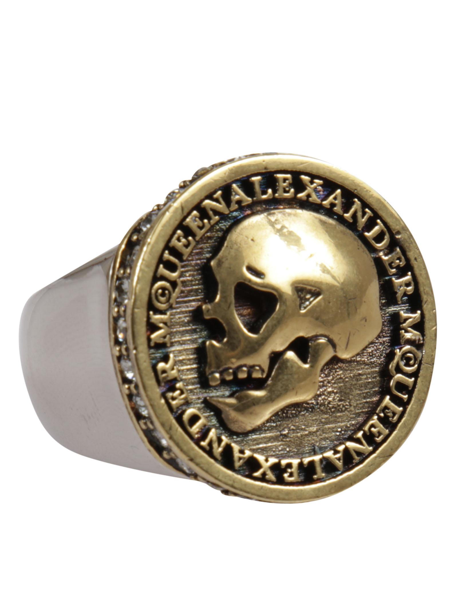 Alexander McQueen Alexander Mcqueen Skull Motif Ring