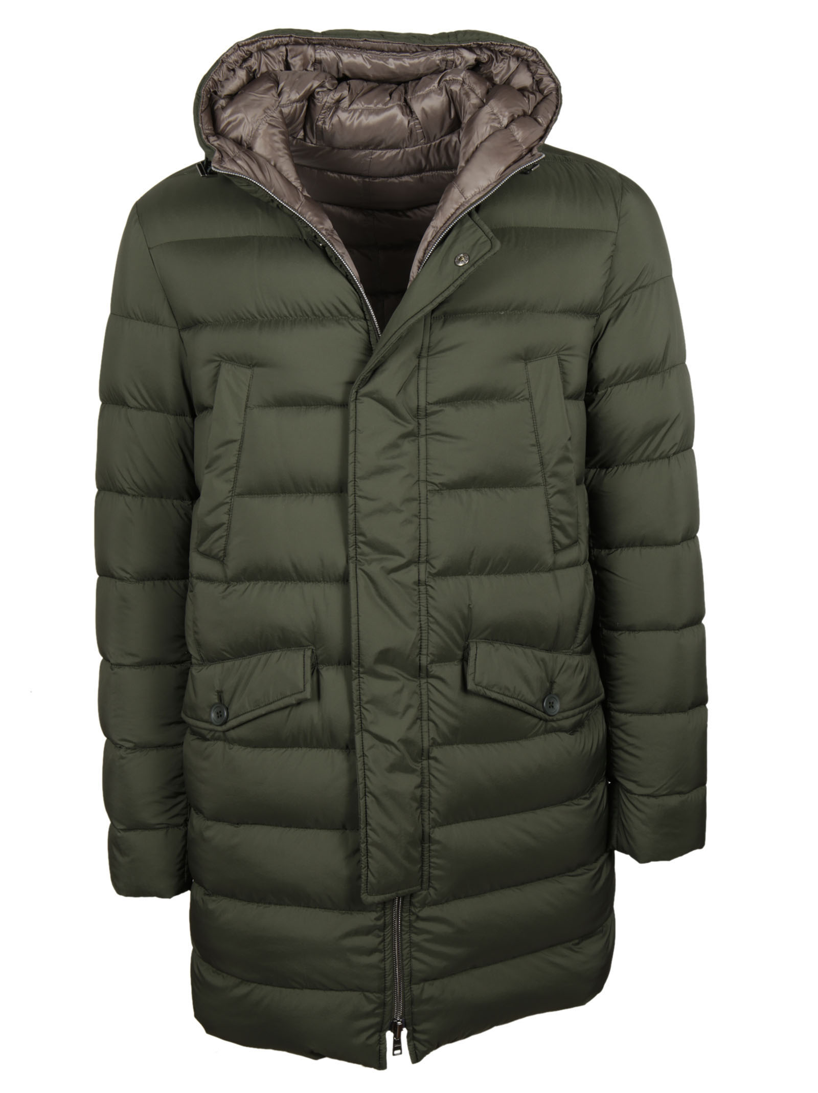 Herno Herno Hooded Down Jacket